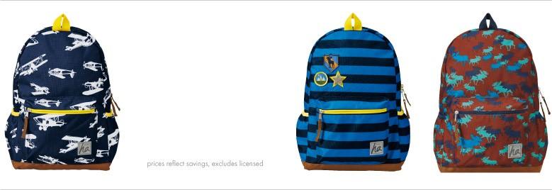 Shop Boys 50% off backpacks
