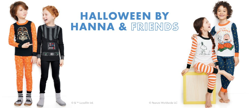 Halloween by Hanna & friends; in EEK-o-friendly organic cotton