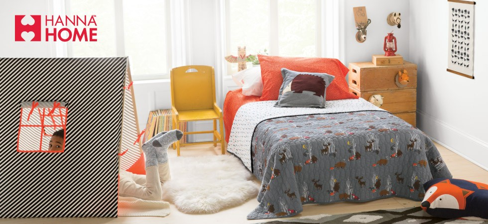 New rooms, sheets + quilts