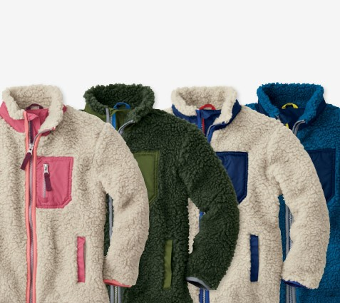outerwear's in!