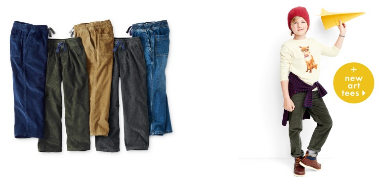 50% off 2nd pair shop pants and new art tees