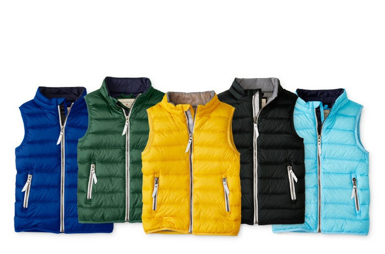 superlight down vest. light as air squishes up small to layer under jackets shop now
