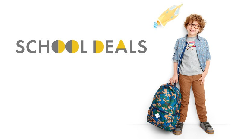 School deals 20% off sweaters, dresses, pants and more