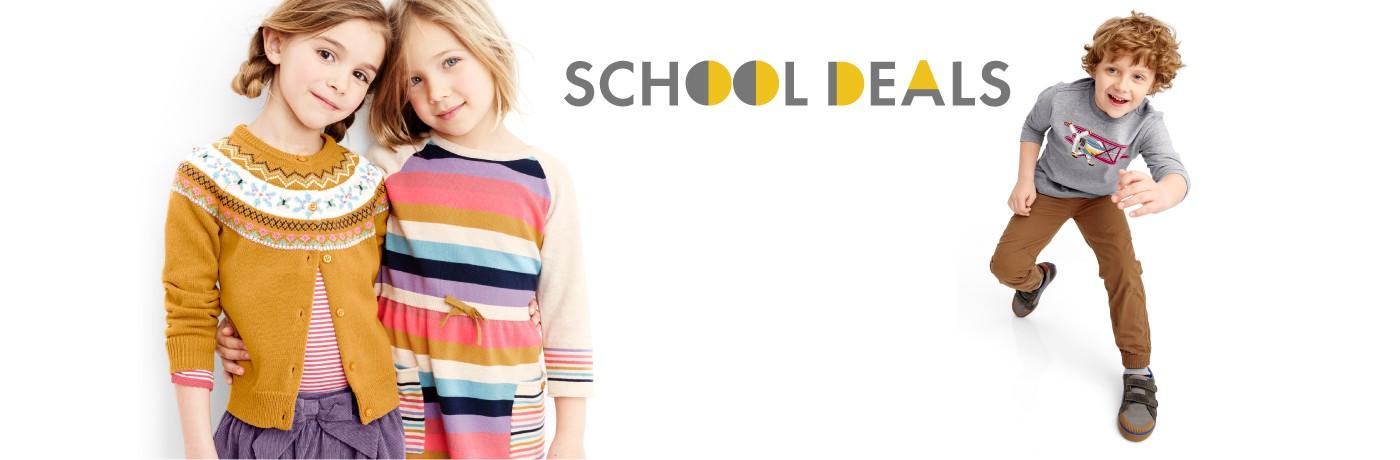 Shop our School Deal Sale
