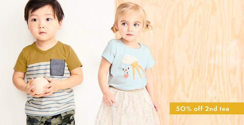 Shop Toddler Collection plus BOGO Tees