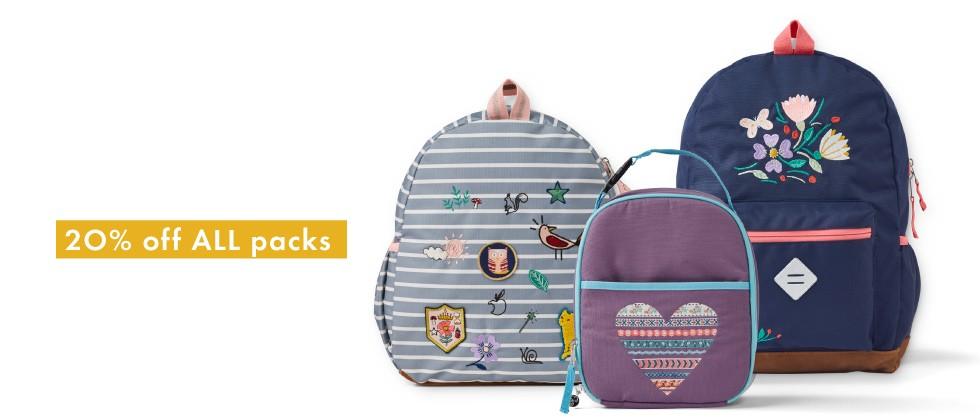 Best ever backpacks, now 20%