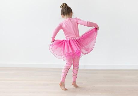 the strong ballerina