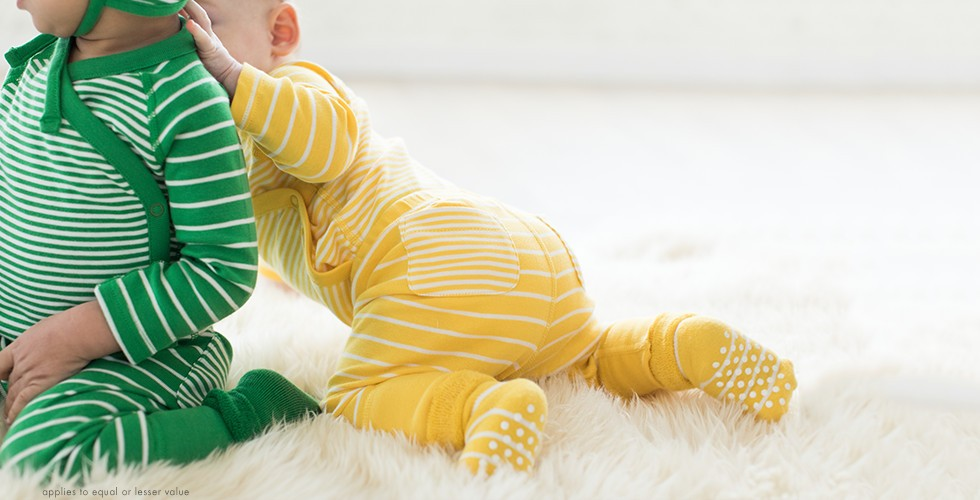 bright baby basics buy 1, get one 50% off of equal or lesser value shop baby basics