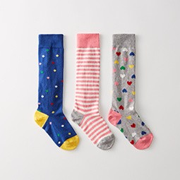 Pitter pattern knee socks. Shop all socks.