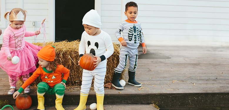 Who will you be? Introducing soft new accessories to pair with organic pj's for halloween play. Shop halloween costumes.