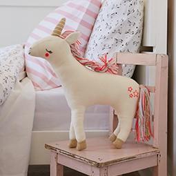 The unicorn cushion. Shop decor.