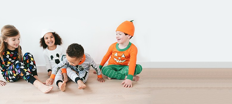 who will you be glow in the dark pumpkins, ghosties and more lights out shop halloween pjs