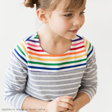 Kids tops buy 1 get 1 50% off. Shop girls and boys.