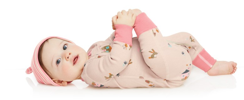 Shop Baby Super Sleepers cuddle babies in pure organic cotton