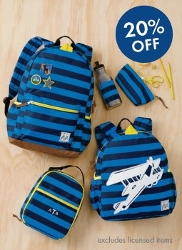 Shop Boys 20% Off The Best New Packs save on all-year gear