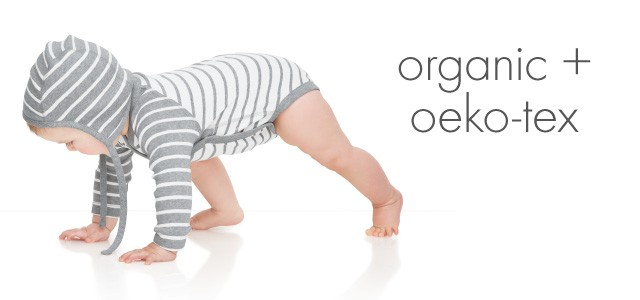 The littlest hannas are pure organic cotton, and also certified by Oeko-Tex® Standard 100