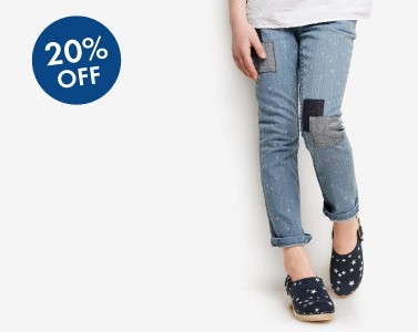 Shop Girls 20% Off All-New Denim new fits + new washes