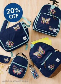 Shop Girls 20% Off The Best New Packs save on all-year gear