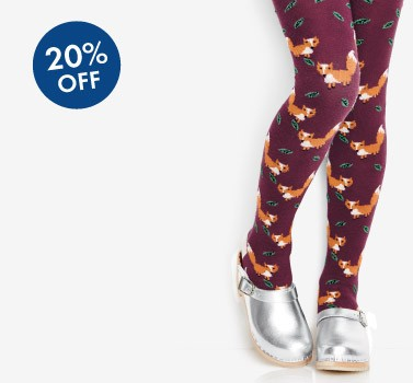 Shop Girls 20% Off Knit To Fit amazing European tights and accessories
