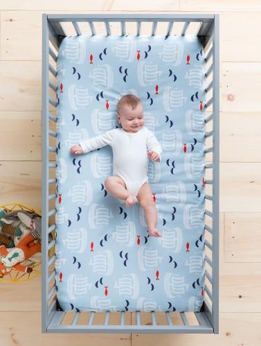 The dreamiest nursery. Shop baby bedding.