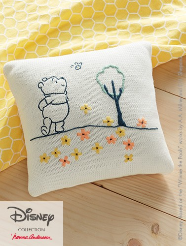 Perfect for story time. Soft sweater knit pillow is handcrafted. Shop now.