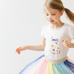 art tees with tulle skirts shop all