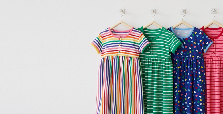 Playdresses 20% off shop girls and baby.