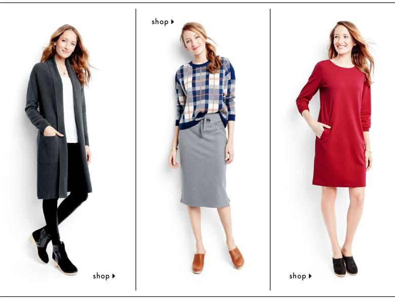 shop women's dresses and skirt looks