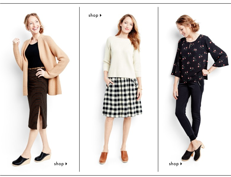 Shop our top, pant, and skirt looks