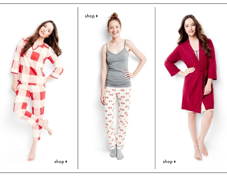 shop women's sleepwear looks