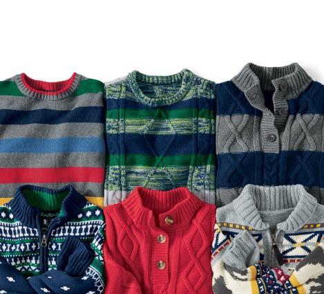 Sweater Stories: Boys