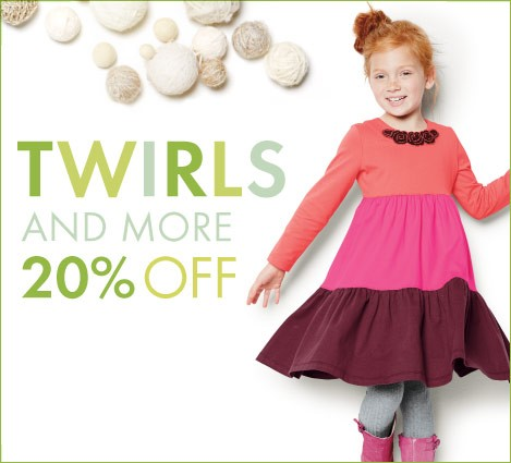 Twirls And More 20% Off
