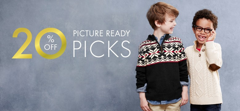 Shop Boys Picture Ready Picks 20% off