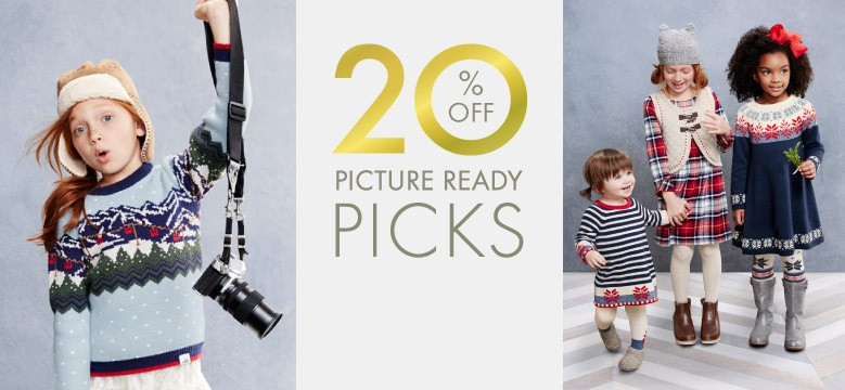 Shop Girls Picture Ready Picks 20% Off