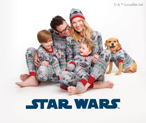 Star Wars; Merry intergalactic holidays