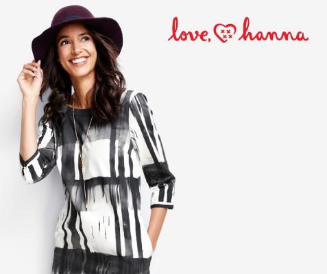 love, hanna; 20% off dresses; Shop now