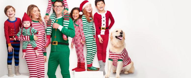 Shop Sleepwear meet the very merries family pj's