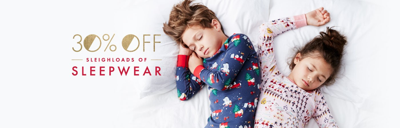 30% Off Sleighloads of Sleepwear
