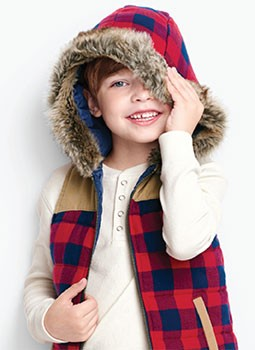 Shop Boys outerwear from vests to bluster busters