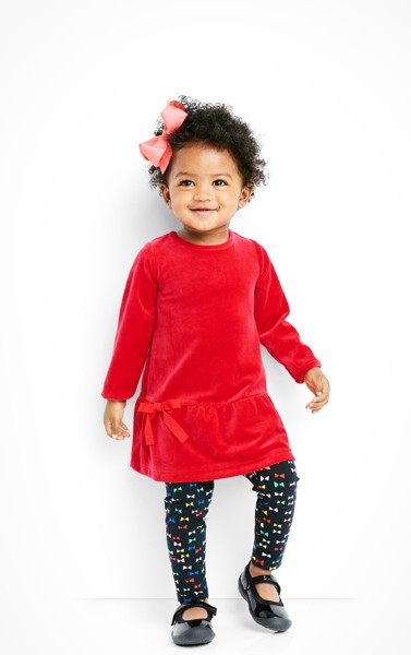 Shop cozy baby dresses
