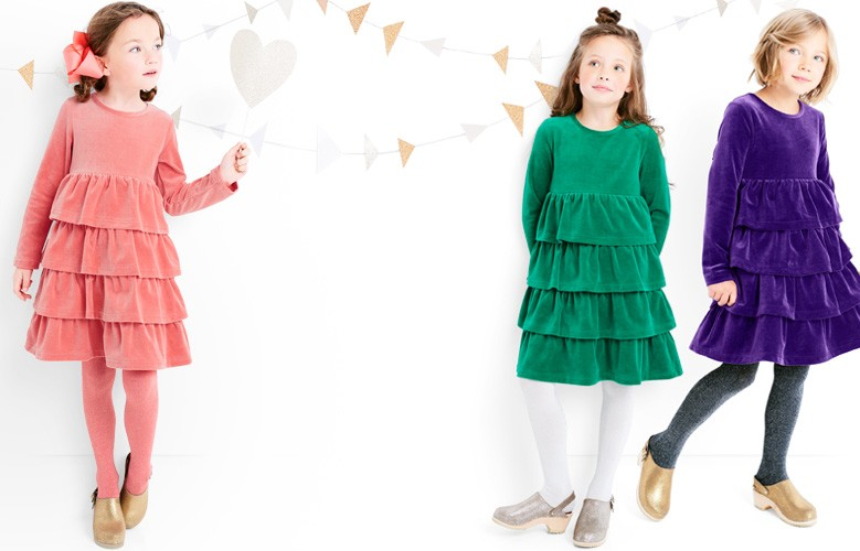 supersoft holiday dresses they twirl, play and wash like magic shop them all