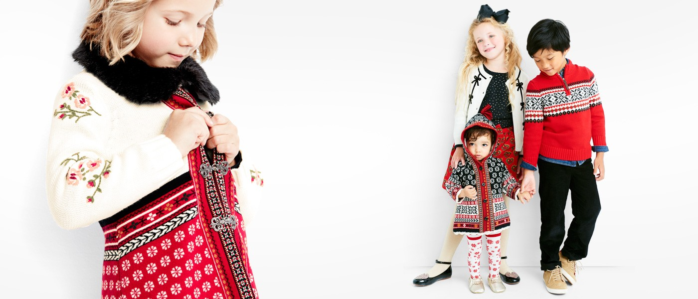 celebrate with family matching holiday sweaters are crafted to last explore family collections