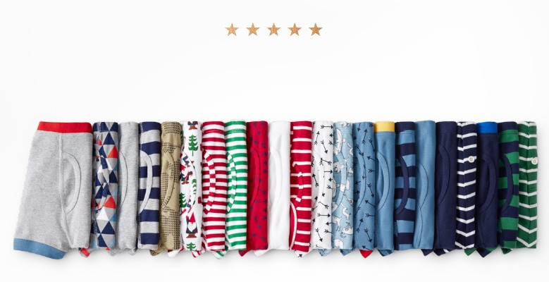 5 star faves organic unders 'the only ones we buy...' shop new colors