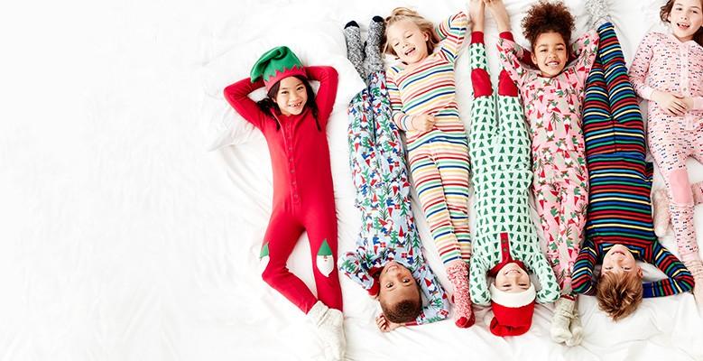 shop kids organic cotton sleepwear