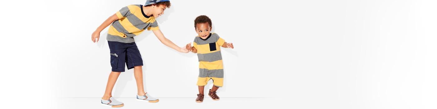 bold stripes; our supercomfy classics