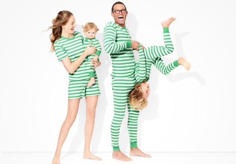 classic stripes in happy green