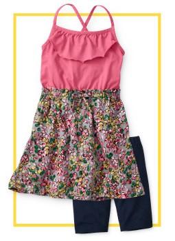 Shop Girls DRESSES BIKE SHORTS for her easiest mornings