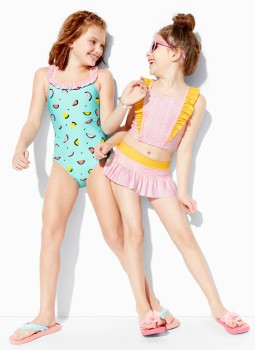Shop Girls up to 50% off swim our sunblocking suits last