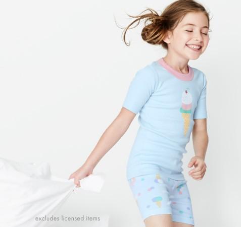 25% Off Organic Sleepwear; Shop Girls, Boys