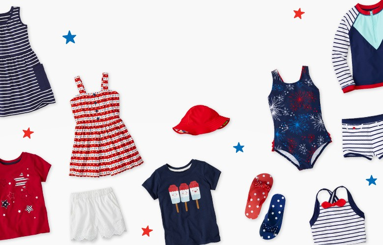 red white blue here comes summer! those long sunny days are almost here shop now